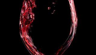 verre vin fond noir copie
